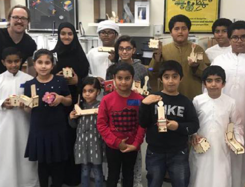Making in Dubai – Ferienprogram im Fablab Dubai